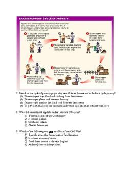 8th Grade Social Studies Test Bundle From Reconstruction-Cold War