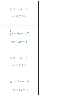 8th Grade Substitution and Systems of Equations Lesson: FOLDABLE & Homework