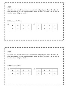 8th Grade Math Task Cards - Linear Functions and Systems of Equations