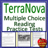 8th Grade TerraNova Test Prep Practice Tests for Reading ELA - Terra Nova Bundle