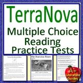 8th Grade TerraNova Test Prep Practice Tests for Reading ELA - Terra Nova