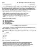 8th Grade Tests on Figurative Language (+Practice)