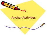 8th Grade U.S. History Anchor Activities