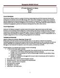 8th Grade U.S. History Advanced Class Syllabus