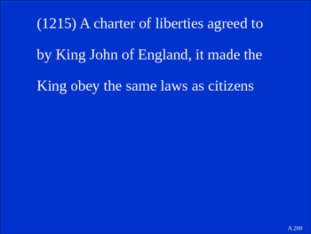 8th Grade U.S. History Documents Jeopardy