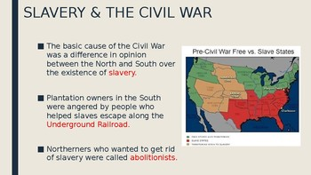 8th Grade U.S. History Notes