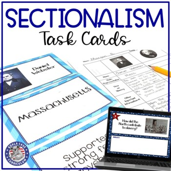 Sectionalism Review Activity