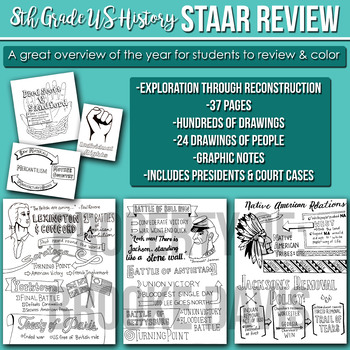 8th Grade US History STAAR Review