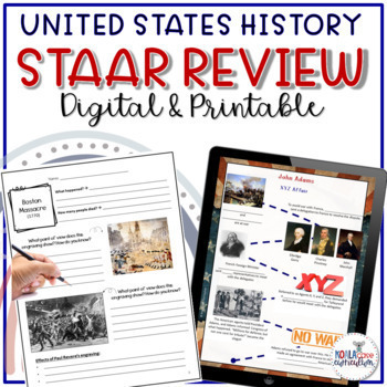 8th Grade US History STAAR Review Study Guide