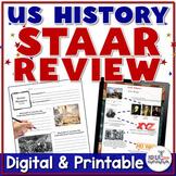8th Grade U.S. History Social Studies STAAR Review Study Guide