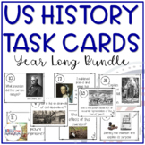 8th Grade US History STAAR Review Task Cards Bundle
