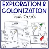 8th Grade US History STAAR Review Task Cards: Colonization