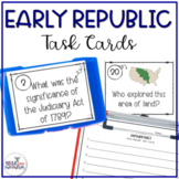 8th Grade US History STAAR Review Task Cards: Early Republic