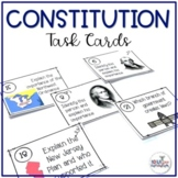 8th Grade US History STAAR Review Task Cards: The Constitu