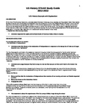 8th Grade US History STAAR Study Guide - Reading Excerpts