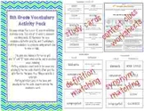 8th Grade Vocabulary Activities: Definitions, Synonyms, an