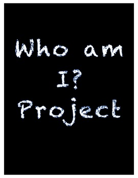 """Who am I?"" Beginning of the Year Writing Project"