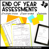 8th Grade Math Year-End Assessments: TEKS