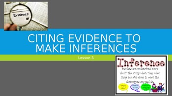8th Grade - iReady Lesson 3:  Citing Evidence to Make Inferences (Informational)