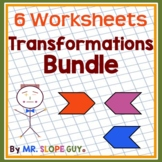 "Math Test Prep Worksheets Grade 8 ""Survivor's Guide "" Math"