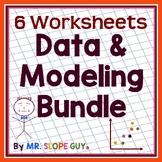 "Math Test Prep Worksheets Grade 8 ""Survivor's Guide"" Mathematics Bundle 1"