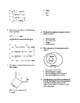 8th Math Pythagorean and Rational Numbers Assessment On Le