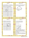 8th Math STAAR Review Category 2 and 3 (2 activities) Scav