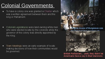 8th Social Studies STAAR Review: Colonial Government (7 Min Mastery #1)
