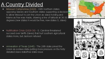 8th Social Studies STAAR Review: A Dividing Nation (7 Min Mastery #10)