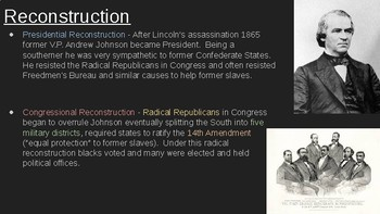 8th Social Studies STAAR Review: Reconstruction (7 Min Mastery #12)
