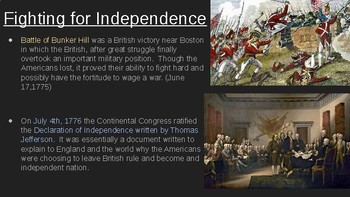 8th Social Studies STAAR Review: Revolution & Independence (7 Min. Mastery #4)