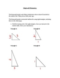 8th grade Common Core Geometry: Hopewell Indians using Pyt