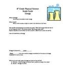8th grade Energy Study Guide - Answer Key