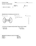 8th grade Final Exam