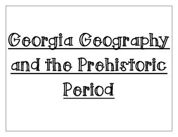 8th grade Georgia Studies Word Wall