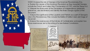 8th grade Georgia studies GSE standards