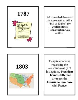 8th grade History Flash cards