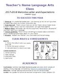 8th grade Language Arts Syllabus