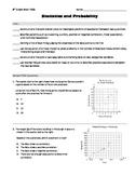 8th grade Math PSSA (PA Core) - Statistics and Probability