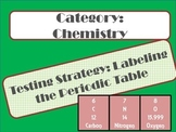 8th grade STAAR Periodic Table Poster Labels