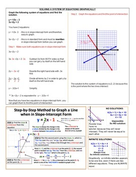 8th Grade Math Study Guide - FULL YEAR