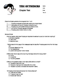 8th grade The Outsiders Book Test - 4 test bundle