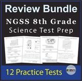 8th Grade Science Test Prep Bundle