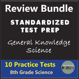 8th Grade Science Test Prep Bundle Independent Work and Study Packet