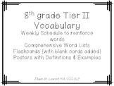8th grade tier 2 vocabulary