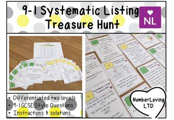 9-1 Systematic Listing & Probability (Scavenger Hunt)