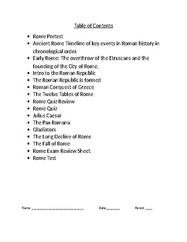 9/10th Grade Global/World History Readings, Tests, Review and Images