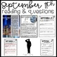 September 11th Activities with Close Reading, Patriot Day Vocabulary and More