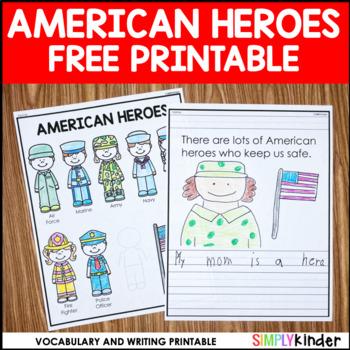 9/11 Activity - American Heroes