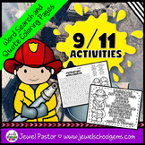 9/11 Activities (September 11th Activities Word Search and